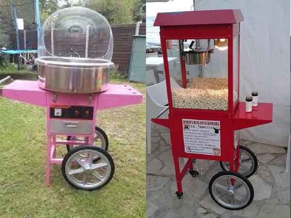 Pop corn machine to rent in cyprus