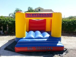 Personalized Bouncy Castles for Parties in cyprus