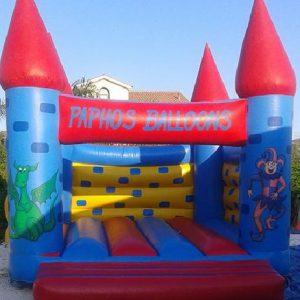 Large Bouncy Castles